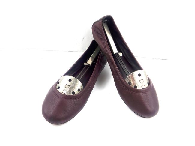 Tory Burch Burgundy Red Ballet Flats Size US 10 Regular (M, B) Tory Burch Burgundy Red Ballet Flats Size US 10 Regular (M, B) Image 1