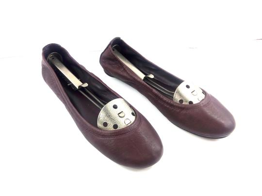 Tory Burch Ballet Burgundy Red Flats Image 1