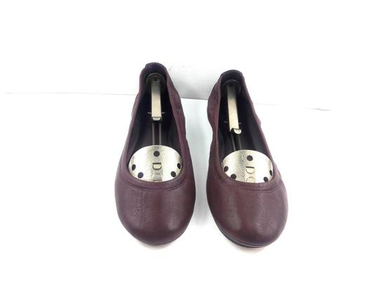 Tory Burch Ballet Burgundy Red Flats Image 2