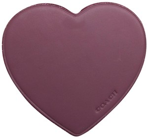 Coach Coach New Mauve Heart Hang Tag