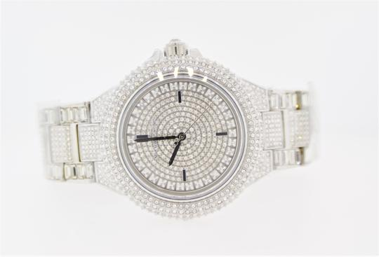 Michael Kors Camille Stainless Steel Pave Crystal Glitz MK5869 Image 10