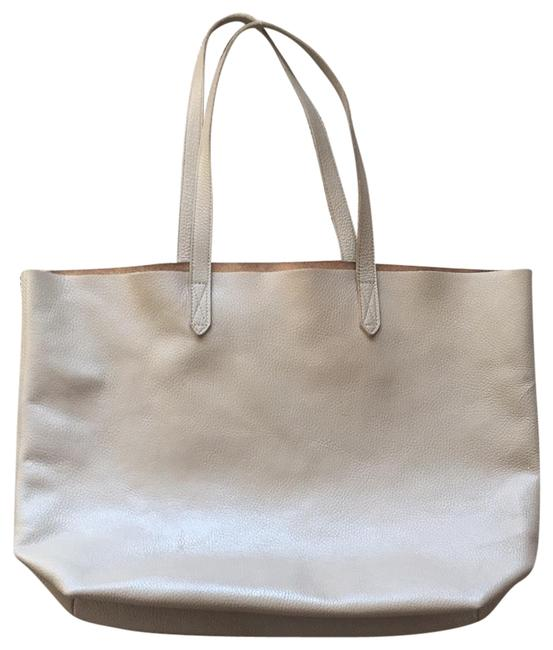 Item - Classic Structured Stone Turkish Leather Tote