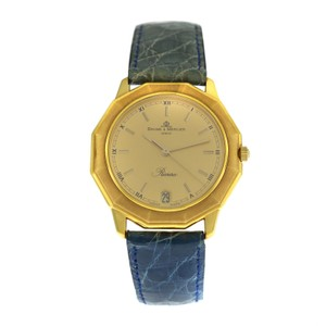 Baume & Mercier Unisex Baume & Mercier Riviera 87012 18K Yellow Gold Quartz 34MM