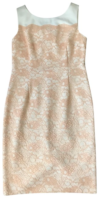 Item - Pale Pink Am003 Mid-length Night Out Dress Size 8 (M)