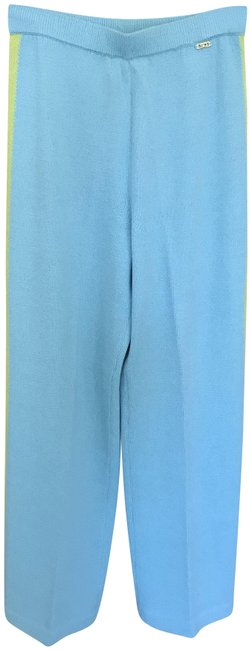 Item - Lt. Aqua/Contrast Stripe Collection By Marie Gray Pants Size 2 (XS, 26)