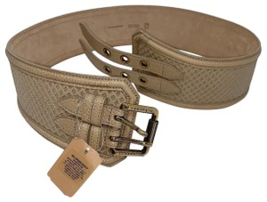 Burberry Leather Perforated Tulsa 65mm Belt