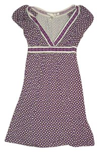 max studio short dress purple on Tradesy