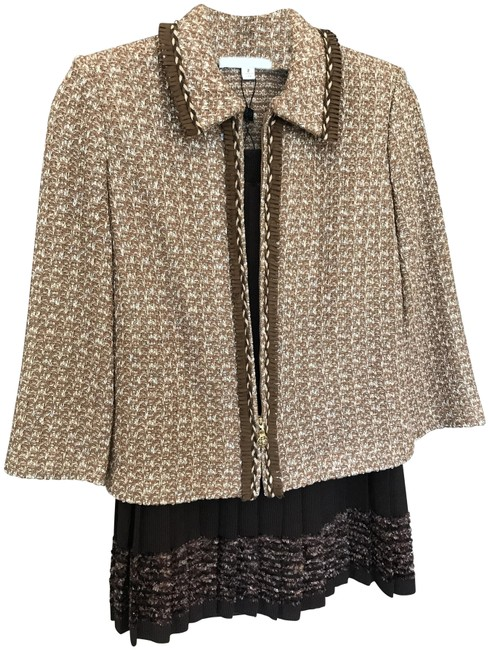 Item - Almond Multi/Brown Collection/St Couture Skirt Suit Size 2 (XS)