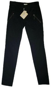 Emilio Pucci Metallic Regular Straight Relaxed Fit Jeans
