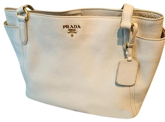 Preload https://img-static.tradesy.com/item/25986504/prada-vitello-daino-br4970-sacca-2-manici-talco-creamy-white-vit-danio-model-leather-with-gold-hardw-0-4-540-540.jpg