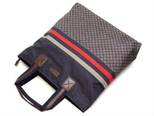 Gucci Tote in blue/red Image 1