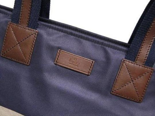 Gucci Tote in blue/red Image 3
