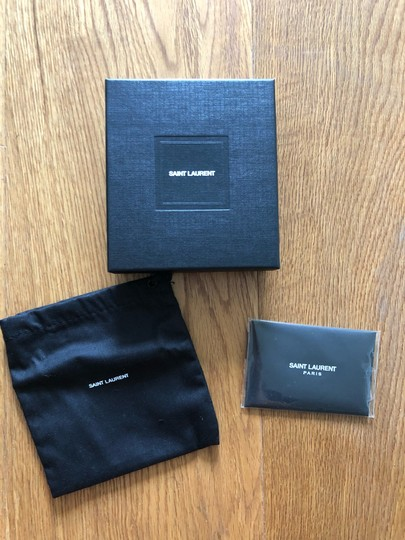 Saint Laurent Card Holder Box & Dustbag Image 1