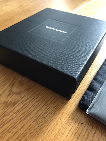 Saint Laurent Card Holder Box & Dustbag Image 2