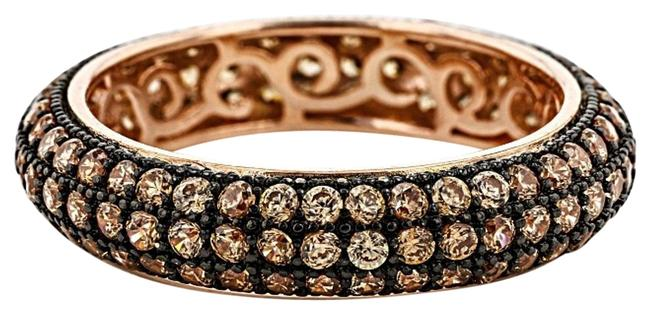 Item - Cognac Brown Micro Pave Eternity Size 10 Ring