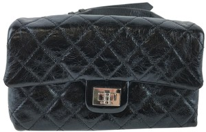 Chanel Chanel Black Quilted Caviar Reissue Belt Bag