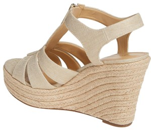 Michael Kors Sandal Platform Pale Gold Wedges