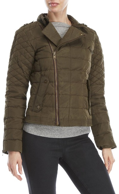 Item - Olive Green Women's Conquest™ Carly Moto Jacket Size 0 (XS)