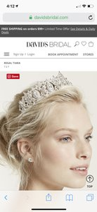 David's Bridal Bling Tiara