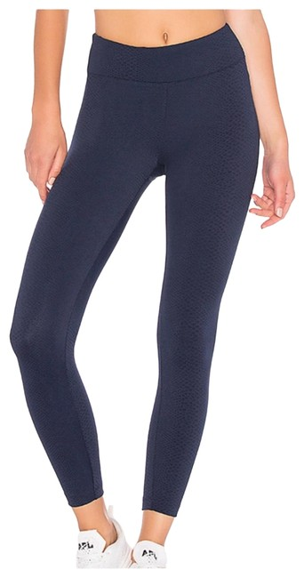 Item - Navy Drive High Rise Serpentine Activewear Bottoms Size 0 (XS)