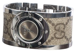 Gucci Ladies Gucci 112 Twirl Bangle Watch