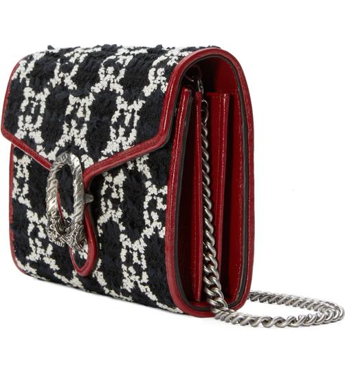Gucci Winter Tweed Boucle Purse Cross Body Bag Image 1