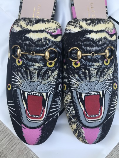 Gucci Guccimules Gucci40.5 Guccishoes40.5 Gucciangrycatmules Mules Image 11