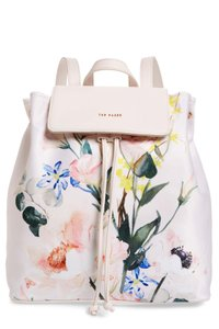Ted Baker Travel Rugsack Drawstring Closure Eloisse Floral Backpack