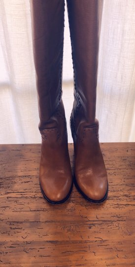 Tory Burch toffee Boots Image 11