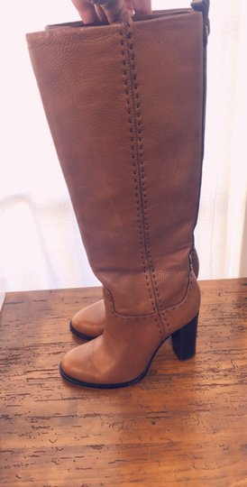 Tory Burch toffee Boots Image 2