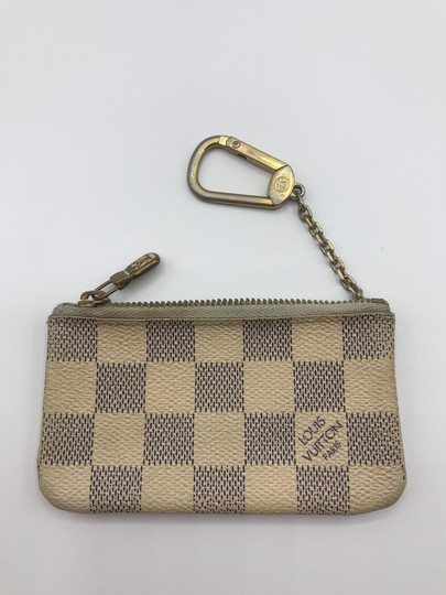 Louis Vuitton Cles Coin Change Wallet Pochette Key Zip Image 1