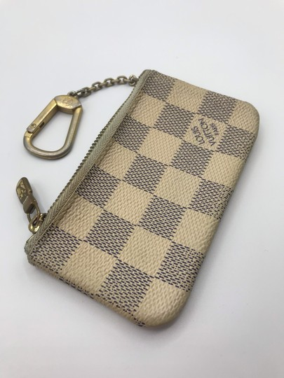 Louis Vuitton Cles Coin Change Wallet Pochette Key Zip Image 2