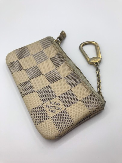Louis Vuitton Cles Coin Change Wallet Pochette Key Zip Image 3