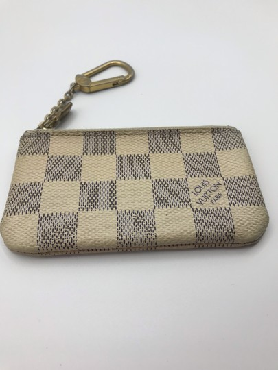 Louis Vuitton Cles Coin Change Wallet Pochette Key Zip Image 6