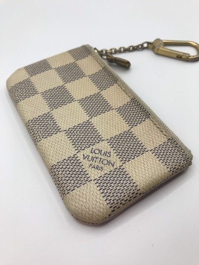 Louis Vuitton Cles Coin Change Wallet Pochette Key Zip Image 7