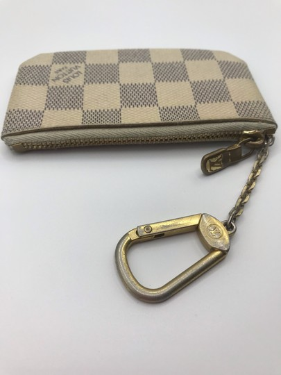 Louis Vuitton Cles Coin Change Wallet Pochette Key Zip Image 9
