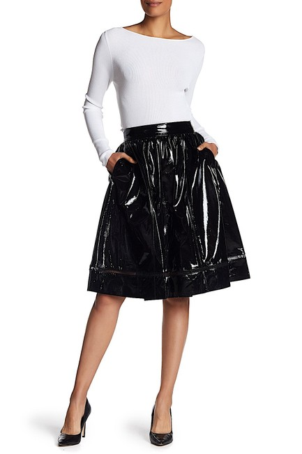 Item - Black with Tag Misty Pantent Leather Skirt Size 4 (S, 27)