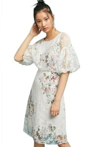 TRACY REESE Floral Midi Dress