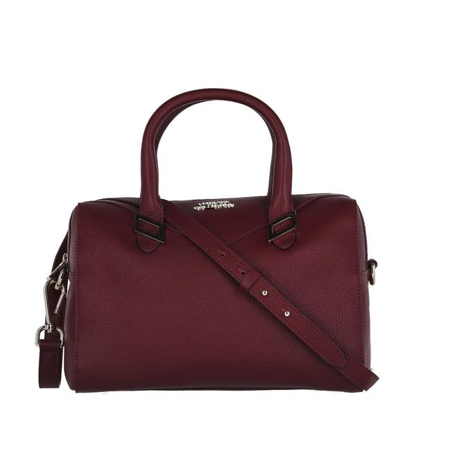 Item - Top Handle Bag Red Leather Satchel