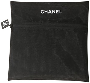 Chanel CHANEL LOGO COSMETIC BAG