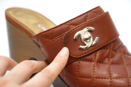 Chanel Red Mules Image 10