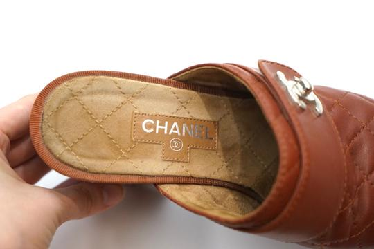 Chanel Red Mules Image 8