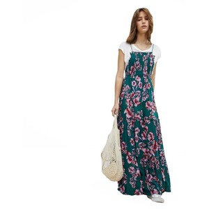 Green Maxi Dress by Free People Maxi