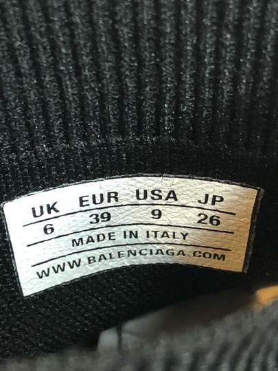 Balenciaga Sneakers Chunky Dad Trainers Black Athletic Image 11