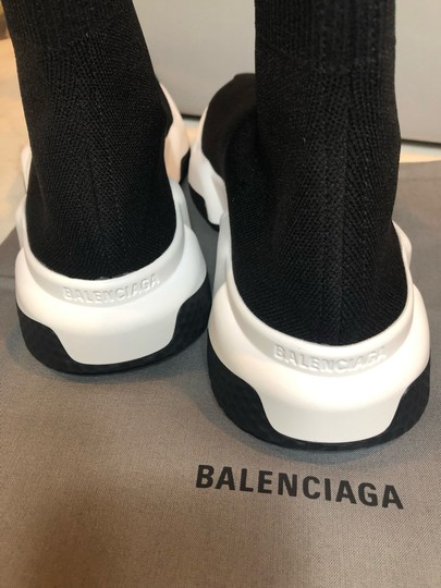 Balenciaga Sneakers Chunky Dad Trainers Black Athletic Image 8