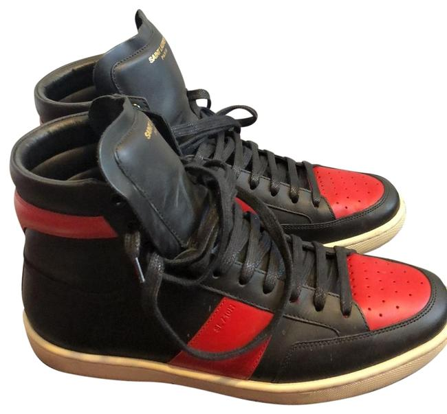 Item - Black/Red Wolly Wolly Sneakers Size EU 40.5 (Approx. US 10.5) Regular (M, B)