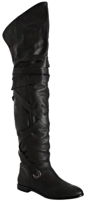 Item - Tied Up Over The Knee Boots/Booties Size US 6 Regular (M, B)
