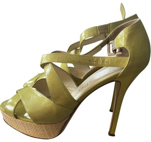 Bettye Muller green Platforms
