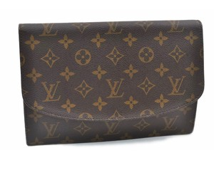 Louis Vuitton Night Out Travel brown Clutch