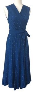 blue Maxi Dress by Diane von Furstenberg